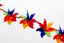 Free Colorful Pinwheels Stock Image - 4231551