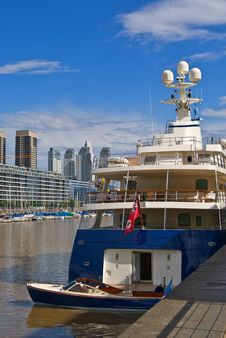 Private Luxury Yacht Royalty Free Stock Images
