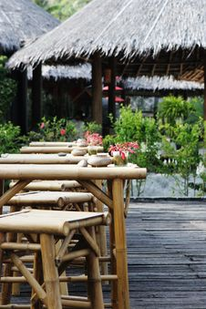 Free Bar In The Tropics Royalty Free Stock Photography - 4231737