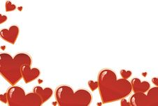 Free Hearts Royalty Free Stock Image - 4232616