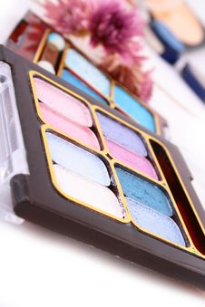 Free A Colorful Make-up Royalty Free Stock Images - 4232829