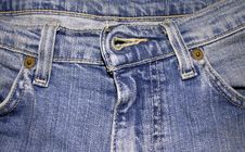 Free Jeans Texture. Stock Photos - 4232953