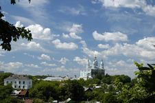 Free The View On Uspenskyi Cathedral And Part Of Smolen Stock Photo - 4233520