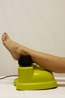 Equipment For Massage Of Legs Stock Photos