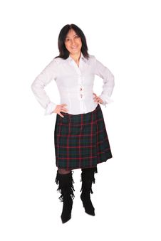Free Woman In Skirt Stock Image - 4234421