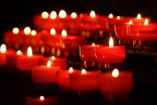 Free Candles Royalty Free Stock Image - 4235306