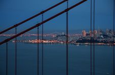 Free San Francisco Golden Gate Brid Royalty Free Stock Images - 4235389