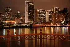Free San Francisco Pier & City Ligh Stock Photo - 4235460
