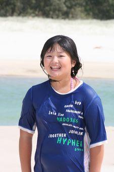 Free Korean Teen Girl Stock Photography - 4236132