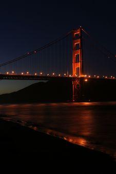 Free San Francisco Golden Gate Brid Royalty Free Stock Image - 4236216