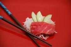 Free Red Tuna Sushi Royalty Free Stock Image - 4236506