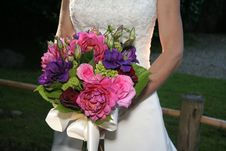Free Bride Bouquet Royalty Free Stock Photography - 4237967