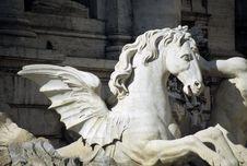 Free Trevi Fountain Royalty Free Stock Photo - 4238045