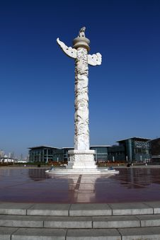 Free Marble Cloud Pillars Royalty Free Stock Photos - 4238398