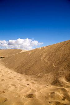 Free Maspalomas Sand Dunes Stock Image - 4239481