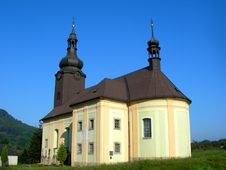 Free Czech Church Royalty Free Stock Photography - 4239597