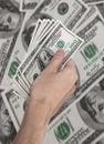 Free Cash American Dollars Stock Images - 42310064
