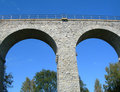 Free Two Archs Of The Bridge Royalty Free Stock Image - 4241636