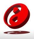 Free Yin Yang Love Stock Image - 4241721