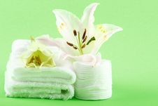 Free Towels Stock Image - 4240051
