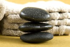 Free Zen Stones Royalty Free Stock Photo - 4240095