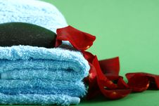 Free Towels Royalty Free Stock Photography - 4240347