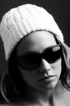 Free Fashion Portrait Of A Woman Stock Image - 4240401