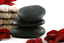 Free Zen Stones Royalty Free Stock Images - 4240449
