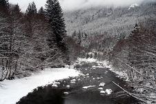 Free Mountain Stream Royalty Free Stock Photos - 4240768