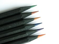 Free Black Pencil In Natural Light Royalty Free Stock Image - 4241726