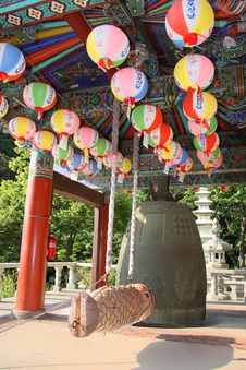 Free Buddhistic Bell, Bellfry Royalty Free Stock Photos - 4241808
