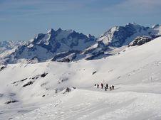 Free Swiss Mountains Royalty Free Stock Photo - 4241825