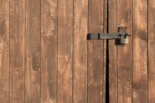 Free Wood Gate Background Stock Image - 4242831