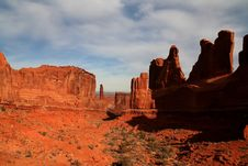 Free Arches National Park 67 Royalty Free Stock Photos - 4243268