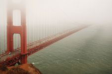 Free Golden Gate Bridgge Stock Photography - 4243722