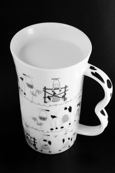 Free Cup Of Milk Royalty Free Stock Photography - 4244207