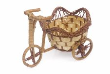 Free Bicycle With Basket Royalty Free Stock Photos - 4244238