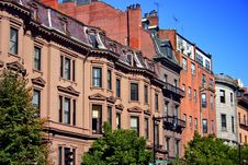 Free Beacon Hill, Boston Royalty Free Stock Photography - 4244377
