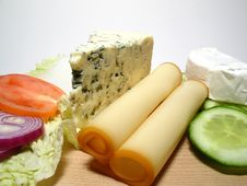 Free Cheeses Kinds Royalty Free Stock Photography - 4245337