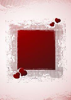 Free Drapery Valentine S Day Frame Stock Photos - 4245453