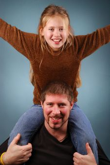 Free Father And Daughter Stock Images - 4246584