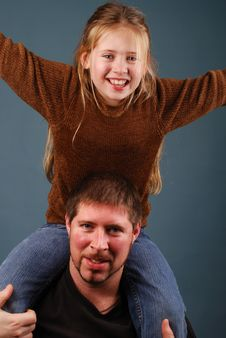 Free Father And Daughter Stock Photo - 4246590