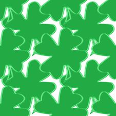 Free Seamless Shamrock 1 Royalty Free Stock Photos - 4247148