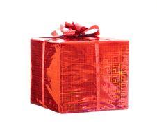 Free Celebratory Gift Royalty Free Stock Image - 4248106