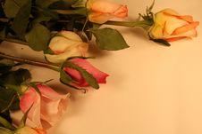 Free Valentine Border Royalty Free Stock Image - 4248436