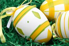 Free Easter Eggs In A Nest Royalty Free Stock Image - 4248996