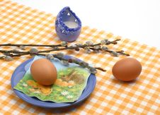 Free Easter Breakfast Stock Photos - 4249063