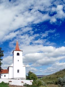 Free Church And Blue Sky Royalty Free Stock Image - 4249336