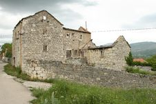 Free Castle Drnis In Croatia Stock Photos - 4249533