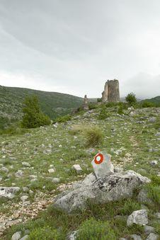Free Castle Gradina In Croatia Royalty Free Stock Photos - 4249588